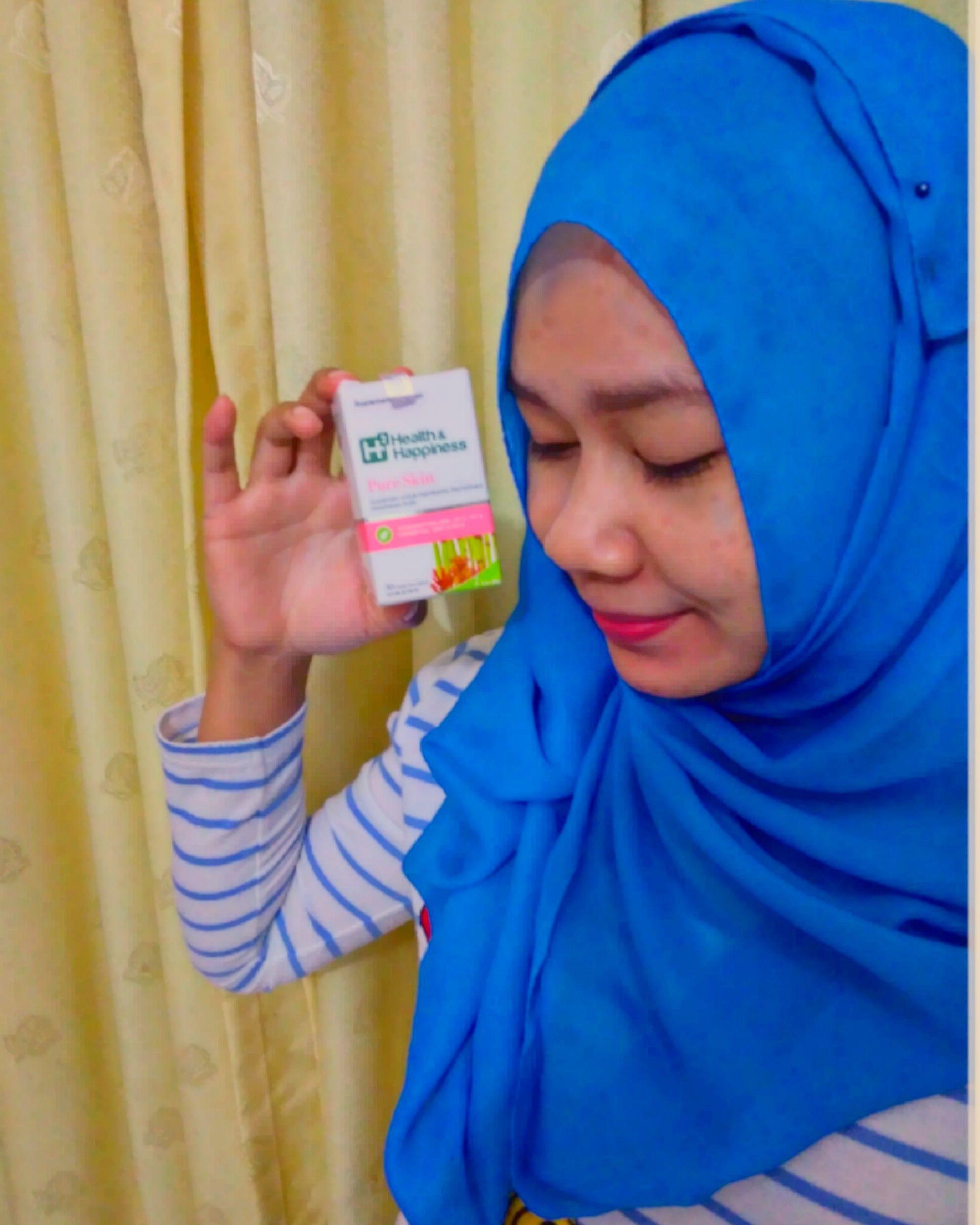 gambar review ke-2 untuk H2 Health & Happiness Pure Skin